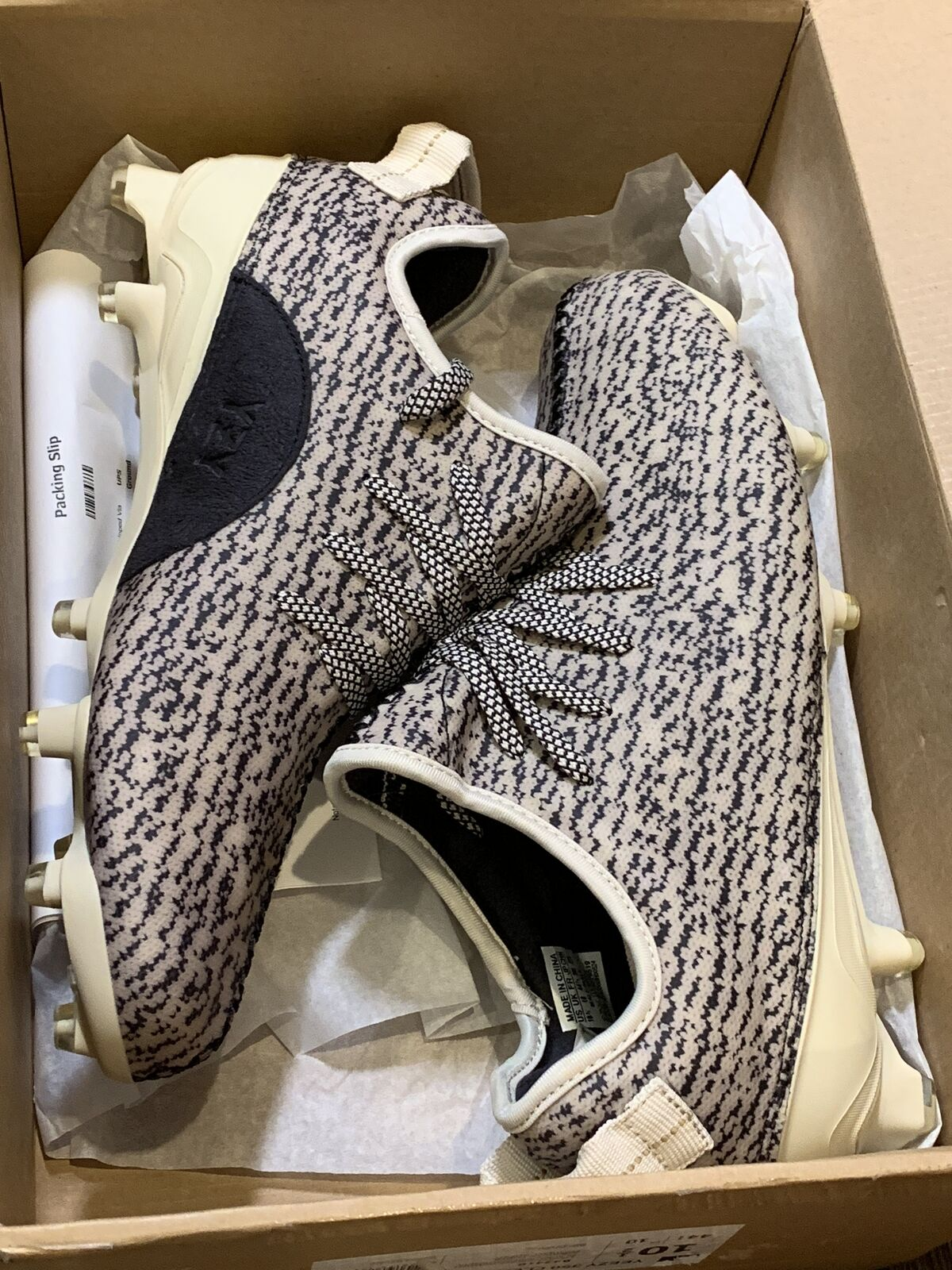 23c5b7b966cd9 adidas Yeezy 350 Cleat Turtle Kanye West Men Size 11 for sale online ...