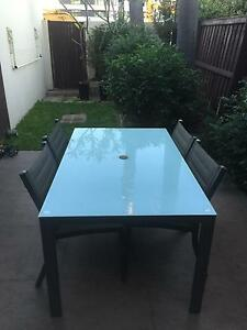 Outside dining table set (4 Chairs and Table) Erskineville Inner Sydney Preview