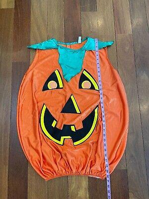 Adult Men's Women's Small Medium S M Halloween Costume PUMPKIN