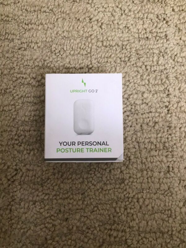 NEW Upright Go 2 Posture Trainer and Back Corrector (Open Box, Never Used)