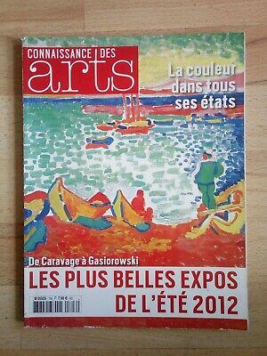 Connaissance Des Arts - Juillet-Aout 2012
