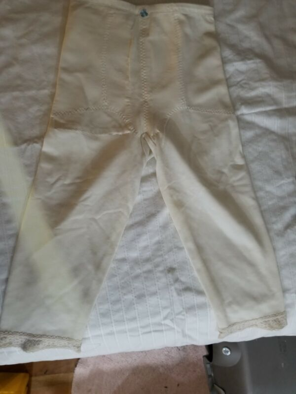 Vintage Subtract high waist long leg girdle #3507size M 30 White Shaper custom $