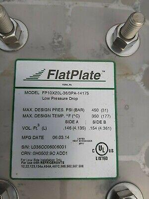 New Gea Flatplate Fp10x20l-36 Brazed Plate Heat Exchanger