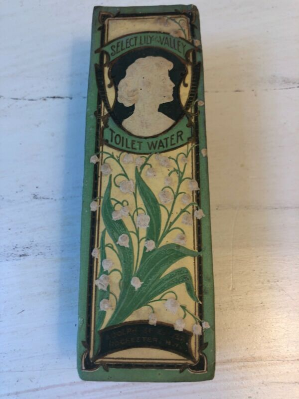 Adolph Spiehler Perfume Bottle Lily of the Valley Toilet Water Box Brochure