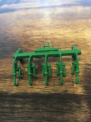 1/64 Scale Custom Green 4 Row Crop Cultivator Farm Toy  for sale  Shipping to Canada