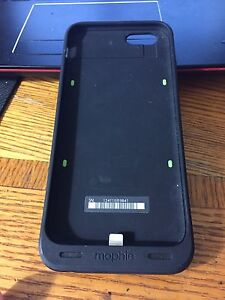 iPhone 6 and iPhone 6s mophie charging case