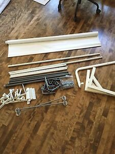 IKEA opaque blind curtain rods for sale