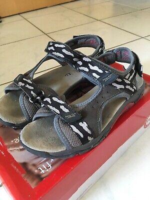 Superfit Sandale Nubuk/textil, Gr. 36, schwarz, *TOP* *NP 69 Euro* Nubuk-textil