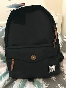 Herschel Sydney black backpack
