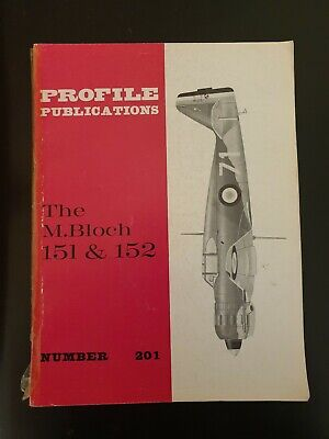 Profile Publications No 201 The M.Bloch 151 &152 comprar usado  Enviando para Brazil