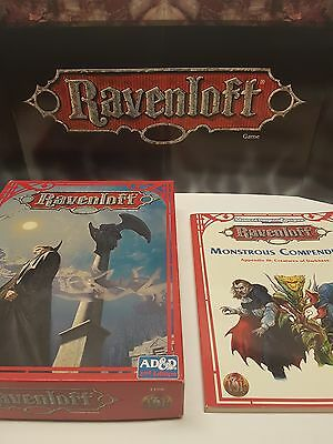 Dungeons & Dragons Ravenloft 2nd Ed.Box Set +Monstrous Compendium *NERDARY*
