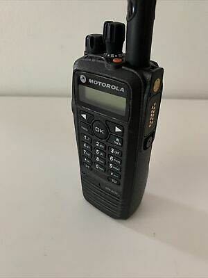 Motorola Xpr6550 Uhf Digital Dmr Radio Excellent