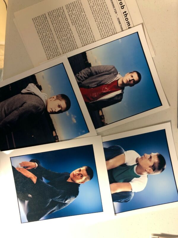 "Rob Thomas Something To Be Press Kit With 4 8"" By 10"" Photos"