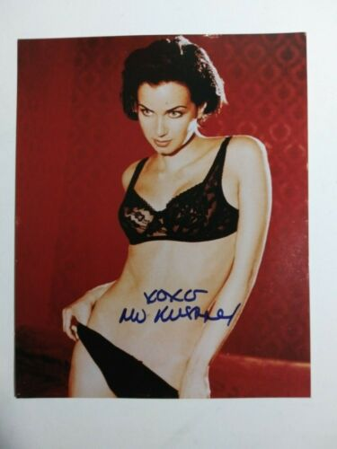 "MIA KIRSHNER -Autographed 8"" by 10"" photo from Teen Movie set COA"