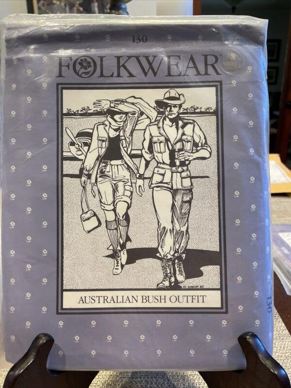 Vintage Folkwear Pattern Australian Bush Outfit