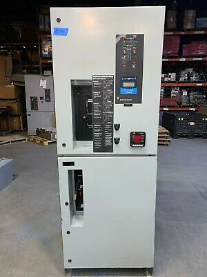 New Ge Zenith 400 Amp Ats Automatic Transfer Switch 3p4w 480v 277v Flaw