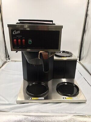 Curtis Cafe3db10a000 Pourover Coffee Brewer With 2 Lower 1 Top Wamrer