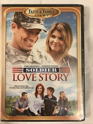 A Soldier Love Story (DVD, 2010) Faith Family, Lori Laughlin , New And Sealed