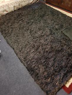Floor Rug Wool Silk 235 Cm X 170cm