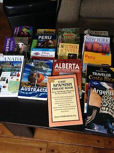 17 Travel Reference books