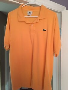Lacoste polo golf shirt size 6