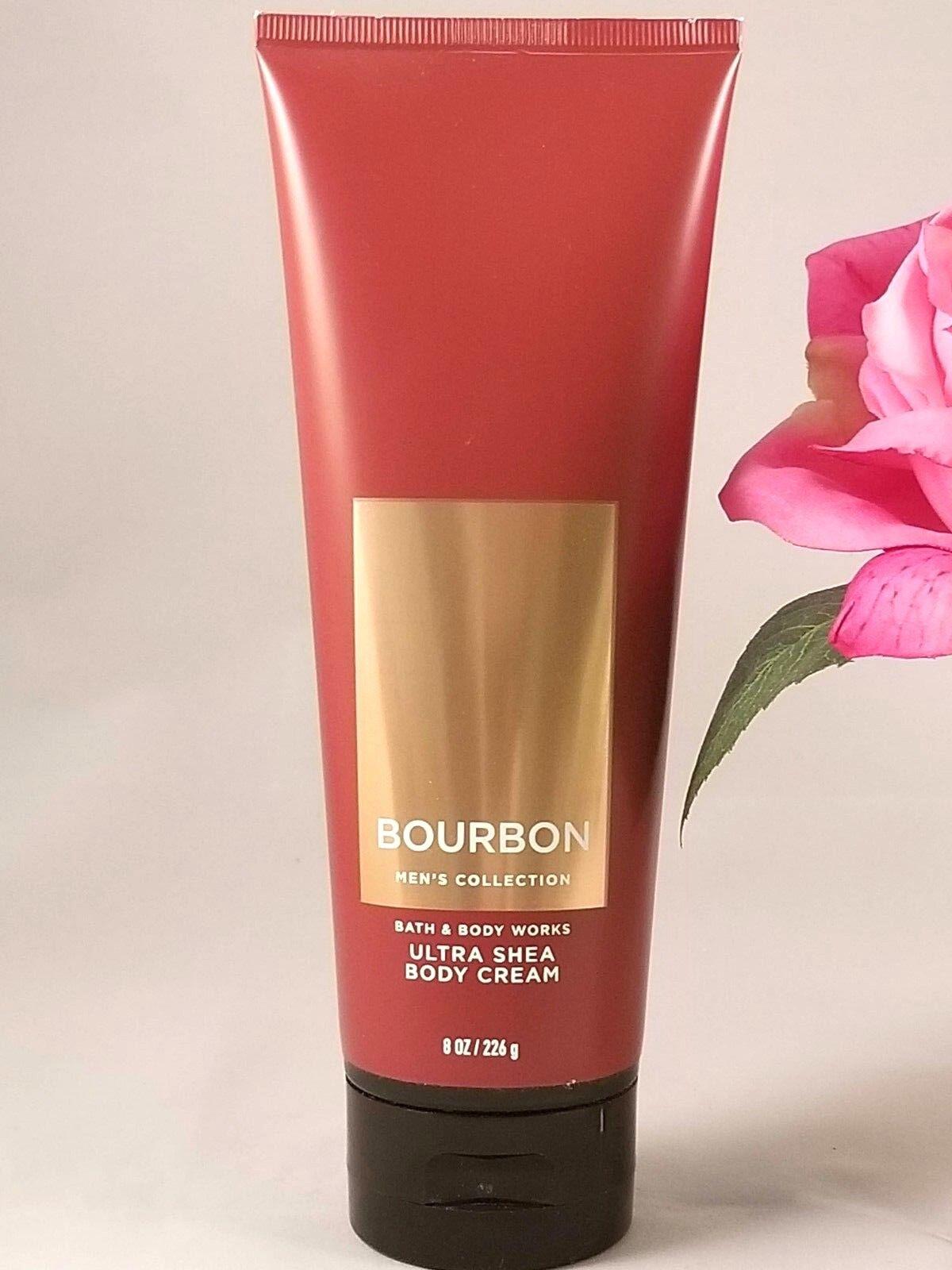Bath & Body Works Bourbon Men's Ultra Shea Body Cream 8 oz