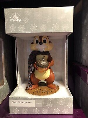 Disney Parks Chip Nutcracker New In Box Chip N Dale Christmas Holiday