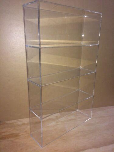 "Displays2buy Acrylic Countertop 14"" x 4 1/4"" x 23""h Display ShowCase Box Cabinet"