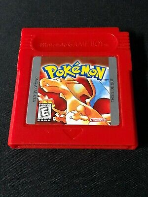 Pokemon Red Version (Game Boy, 1998) Authentic Cart Only! *NEW BATTERY*