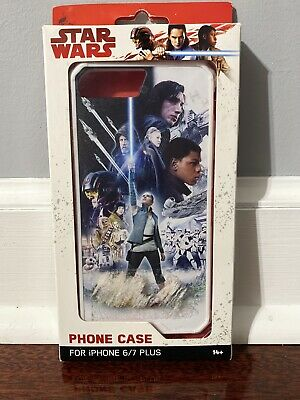 STAR WARS THE LAST JEDI Phone Case For IPHONE 6/7 Plus, Should Fit 6s & 8 Plus