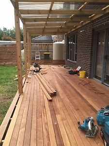 Decking Merbau Builder Supplied and installed @150 per m2 Builder Hawthorn East Boroondara Area Preview