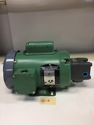 Viking Pump Gp0518-aov Hydraulic Pump 14hp Volts 115230-208 Warranty