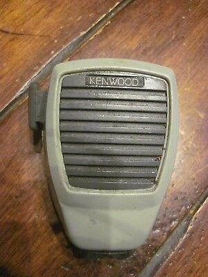 Kenwood Kmc-27 Mobile Radio Noise Canceling Mil Spec Microphone No Cable