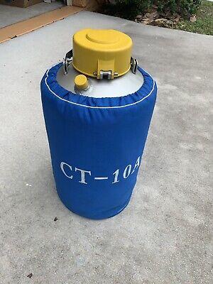 Ct-10a Liquid Nitrogen Container Dewar