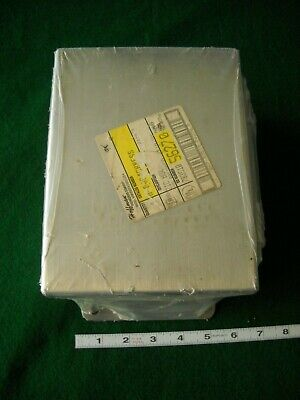 Hoffman Stainless Steel Enclosure A8064chness Nos Junction Box 56270 Nema123r44x