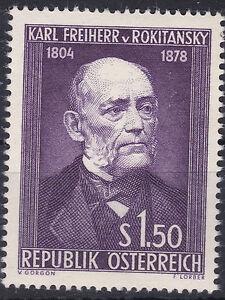 O-1954-Plattenfehler-ANK-1006-I-Bart-mit-Kragen-verbunden-Postfrisch-MNH