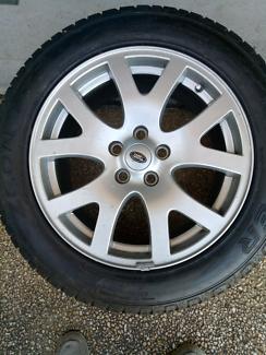 New Range Rover 19in Rims