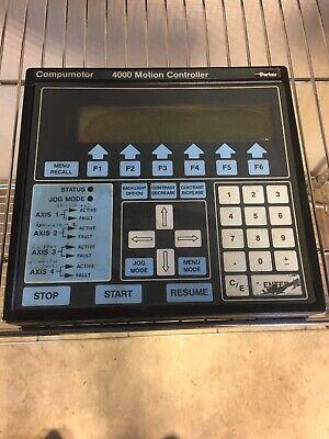 Compumotor 4000 Motion Controller