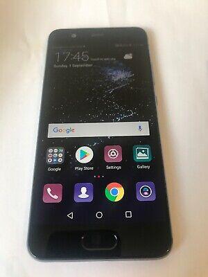 Huawei P10 P VTR-L29 Black 64GB Unlocked Smartphone Very GOOD Condition DUAL SIM
