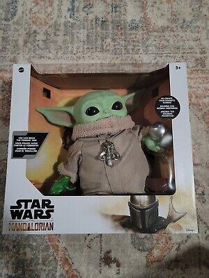 Mattel Yoda Star Wars The Mandalorian Plush Figure Brand New