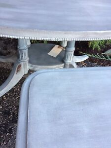 Shabby Chic antique Distressed coffee and End tables