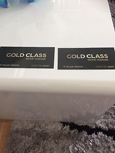 2 Gold Class tickets Point Cook Wyndham Area Preview
