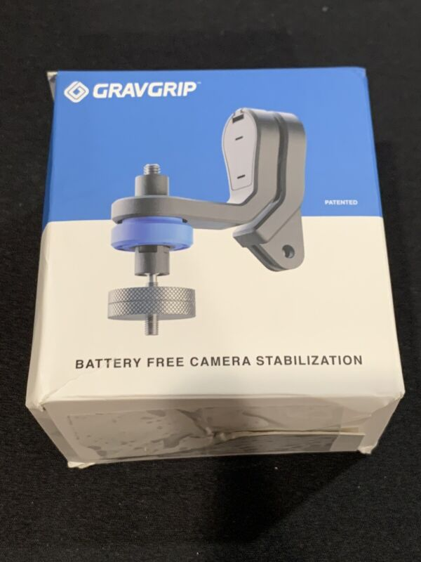 Gravgrip Stabilizer + Cell Phone Adapter + Action Camera Adapter Stabilization