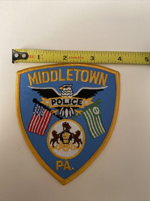 """Middletown Police Pennsylvania Patch 4"""""""