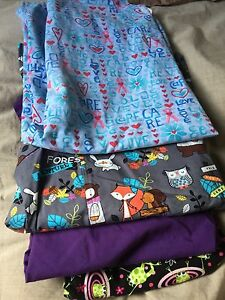 Scrub tops sz. Medium