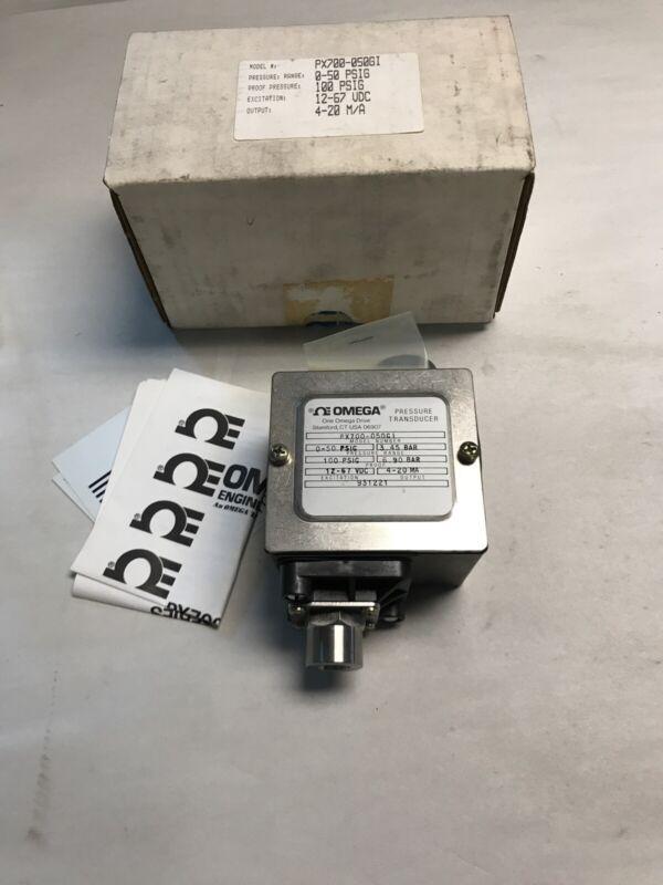 Omega PX700-050GI Pressure Transducer