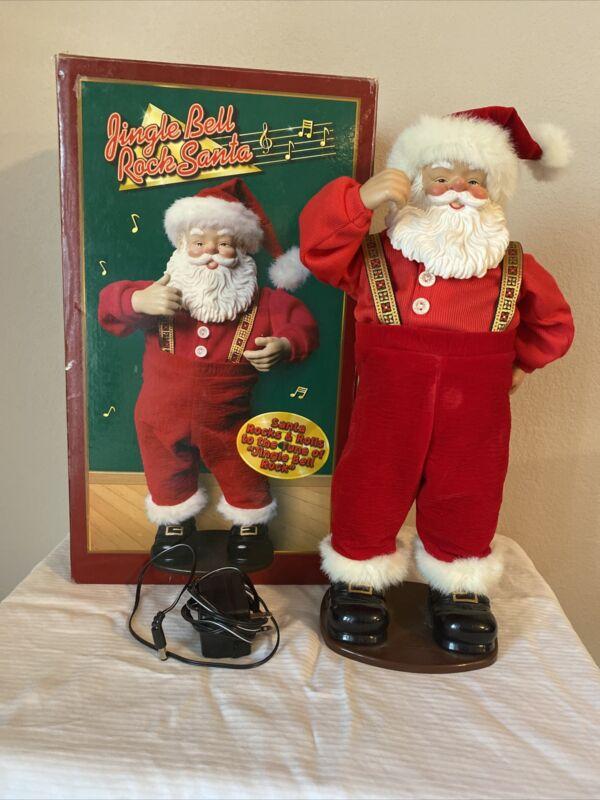 Jingle Bell Rock Santa. Edition #1. 1998
