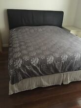 King size bed frame and mattress included Blakehurst Kogarah Area Preview