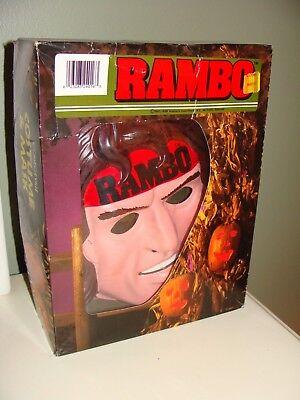 RAMBO,boxed Costume & Mask,Collegeville 1985/86 #2416 child medium, - Rambo Halloween Costumes