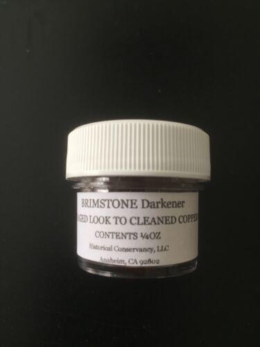 Brimstone Coin Darkener > Restores Copper Coins > Historical Conservancy